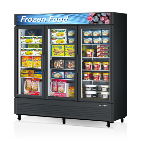 Ice Cream Glassdoor Freezer